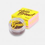 Vizzela Gel Para Sobrancelhas Hello Brown! Marrom Escuro