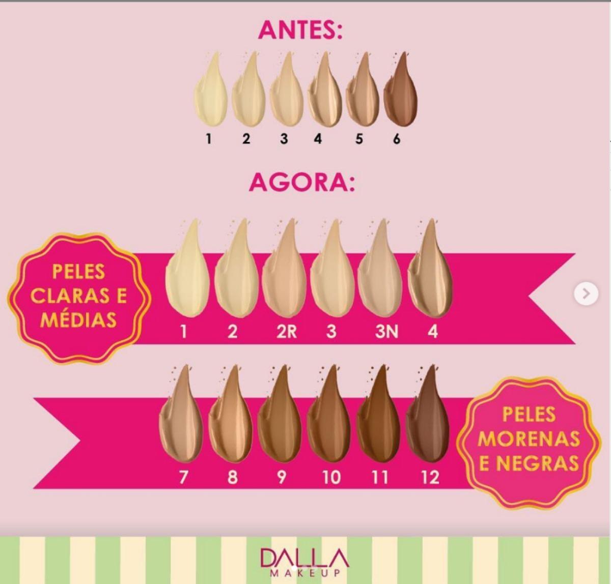 BASE MATTE VEGANA DE ALTA COBERTURA Dalla Makeup-cor 12