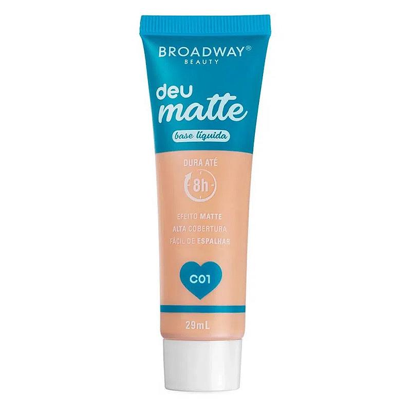 Broadway Beauty Base Líquida Deu Matte C01