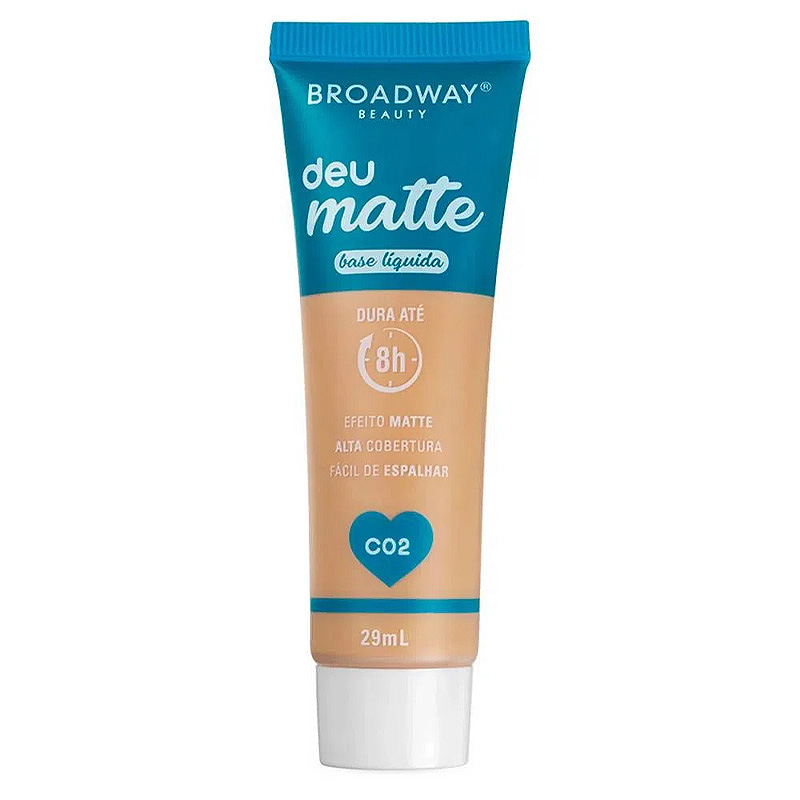 Broadway Beauty Base Líquida Deu Matte C02