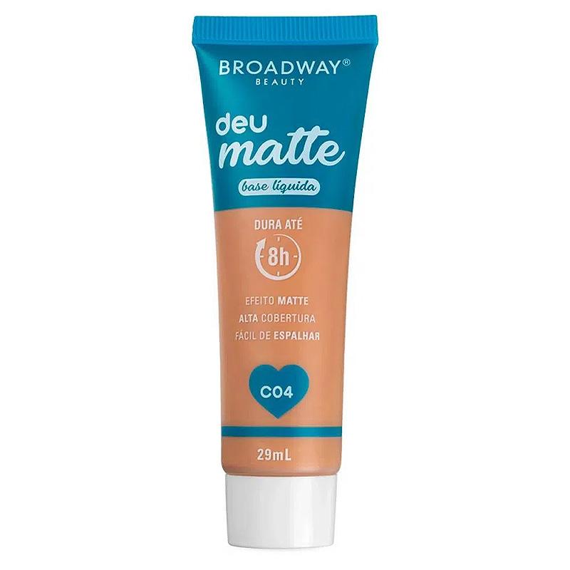 Broadway Beauty Base Líquida Deu Matte C04