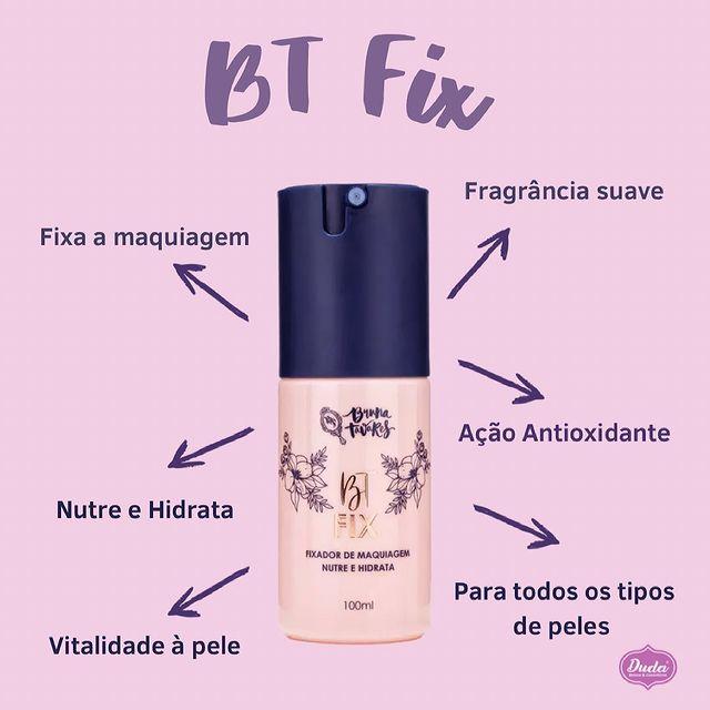 Bruna Tavares Fixador de Maquiagem BT Fix