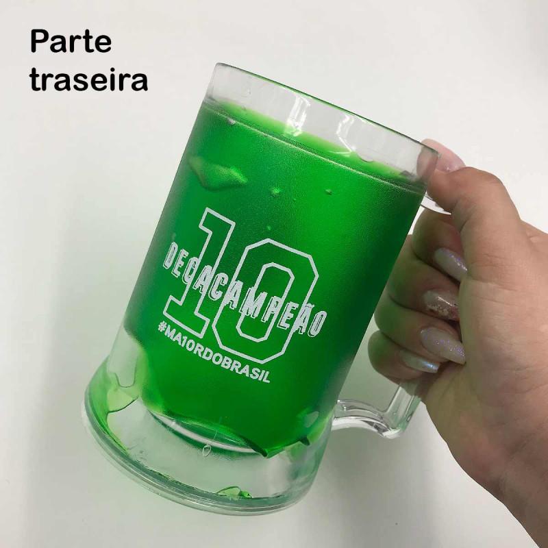 Caneca Com Gel - Palmeiras