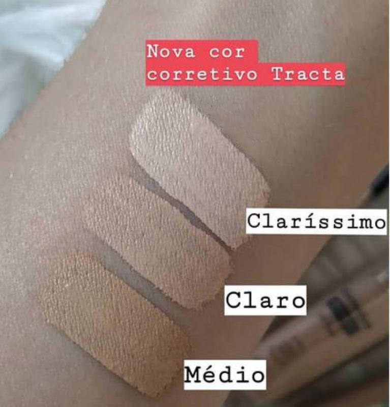 CORRETIVO MATTE ALTA COBERTURA OIL FREE Tracta -claro