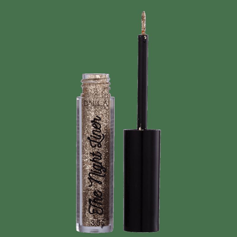 Dalla Make Up Delineador Glitter The Night Liner Luxe