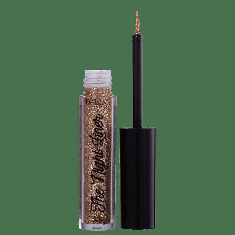 Dalla Make Up Delineador Glitter The Night Liner Power