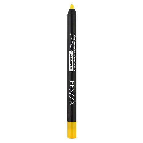 Fenzza Lápis Delineador para Olhos - Amarelo