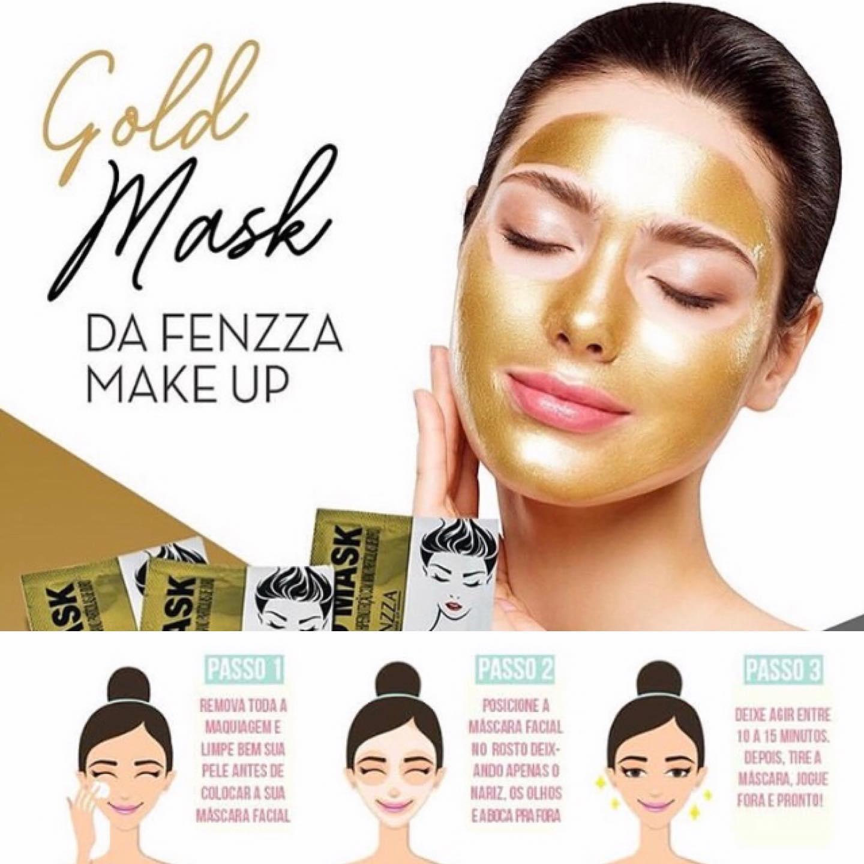 Fenzza Máscara de Ouro Facial Hipernutrição 50g