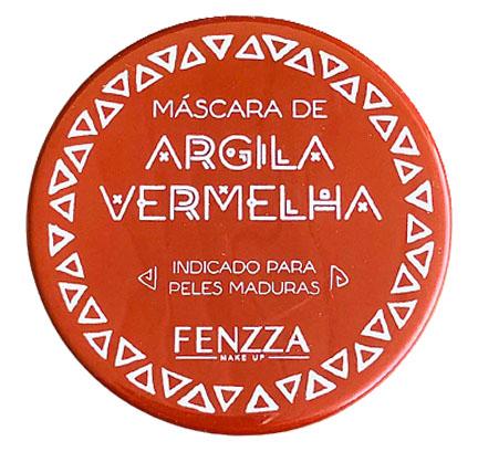 Fenzza MÁSCARA FACIAL DE ARGILA VERMELHA