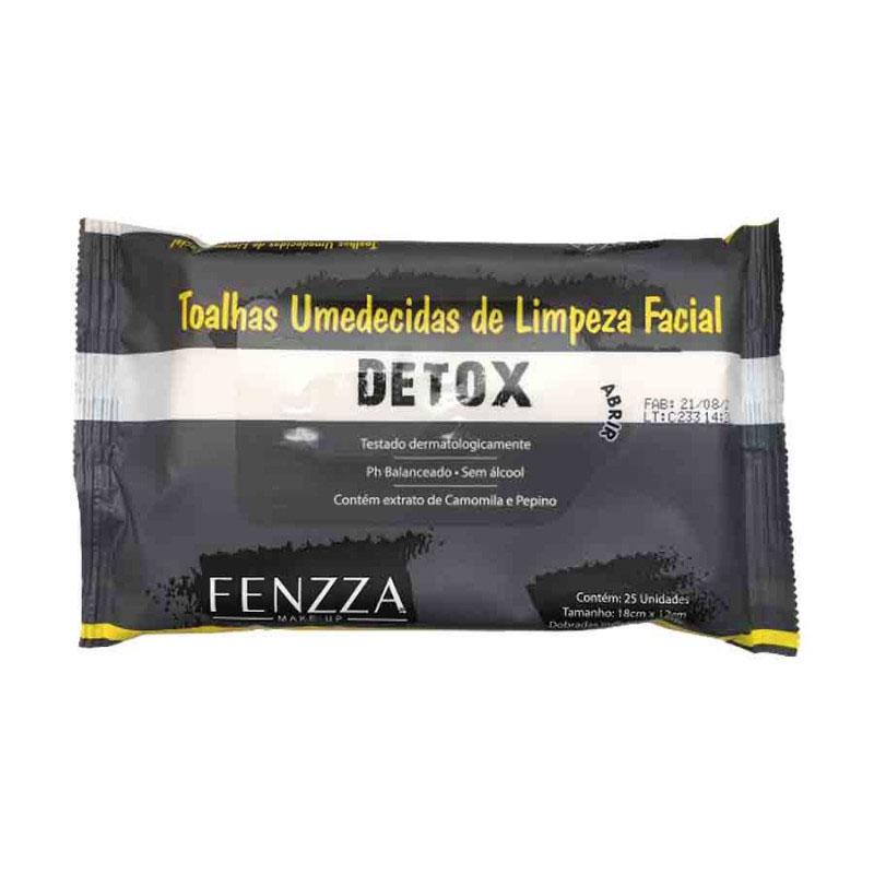 Fenzza Toalhas Umedecidas de Limpeza Facial Detox