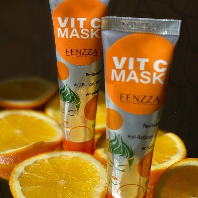 Fenzza Vit C Mask Facial Bisnaga