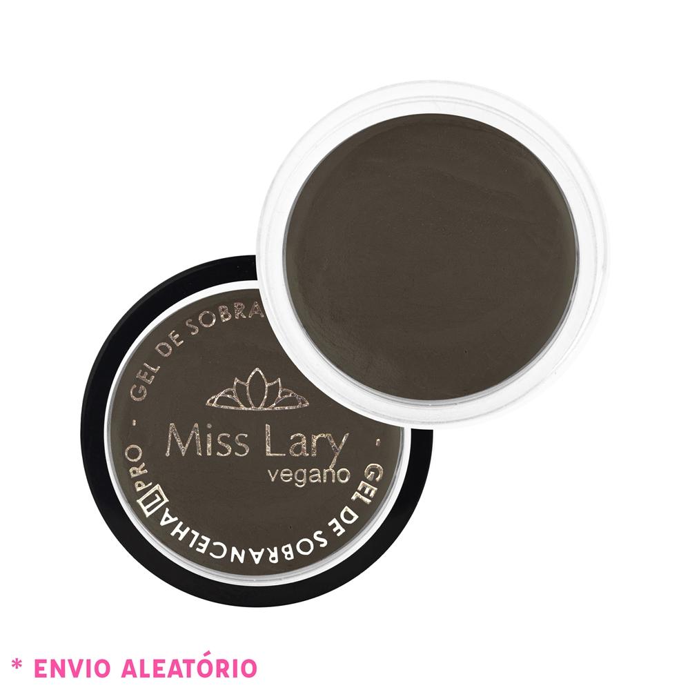 GEL DE SOBRANCELHAS Miss Lary Cosméticos-Marrom escuro