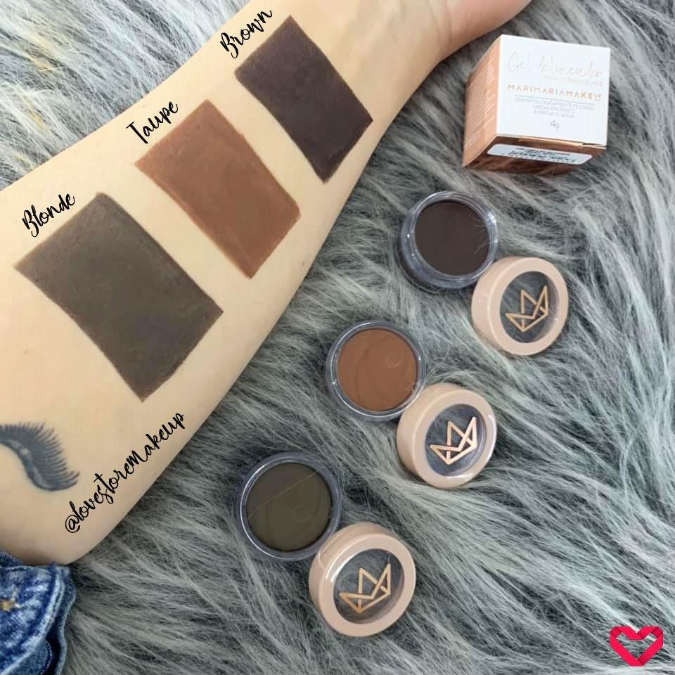 Mari Maria Makeup Gel Delineador para Sobrancelhas - Blonde