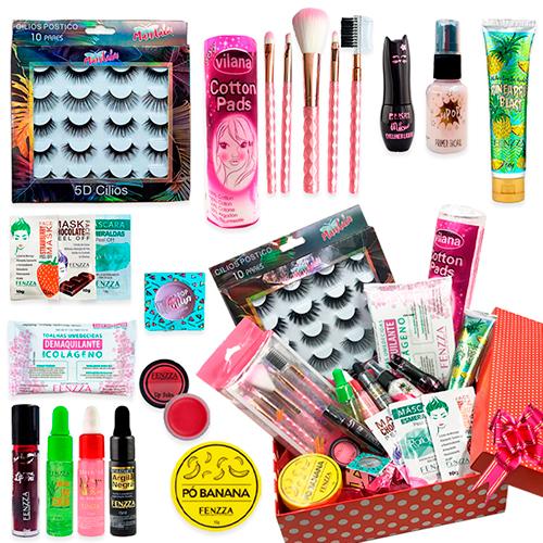 Kit de Maquiagem com Caixa para Presente 02
