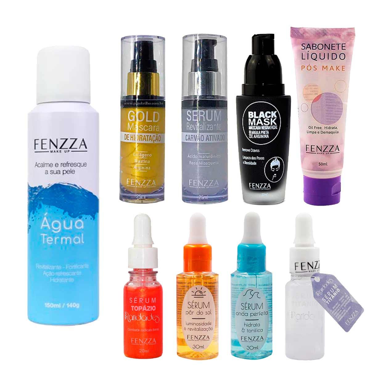 Kit de Maquiagem e Skin Care 1
