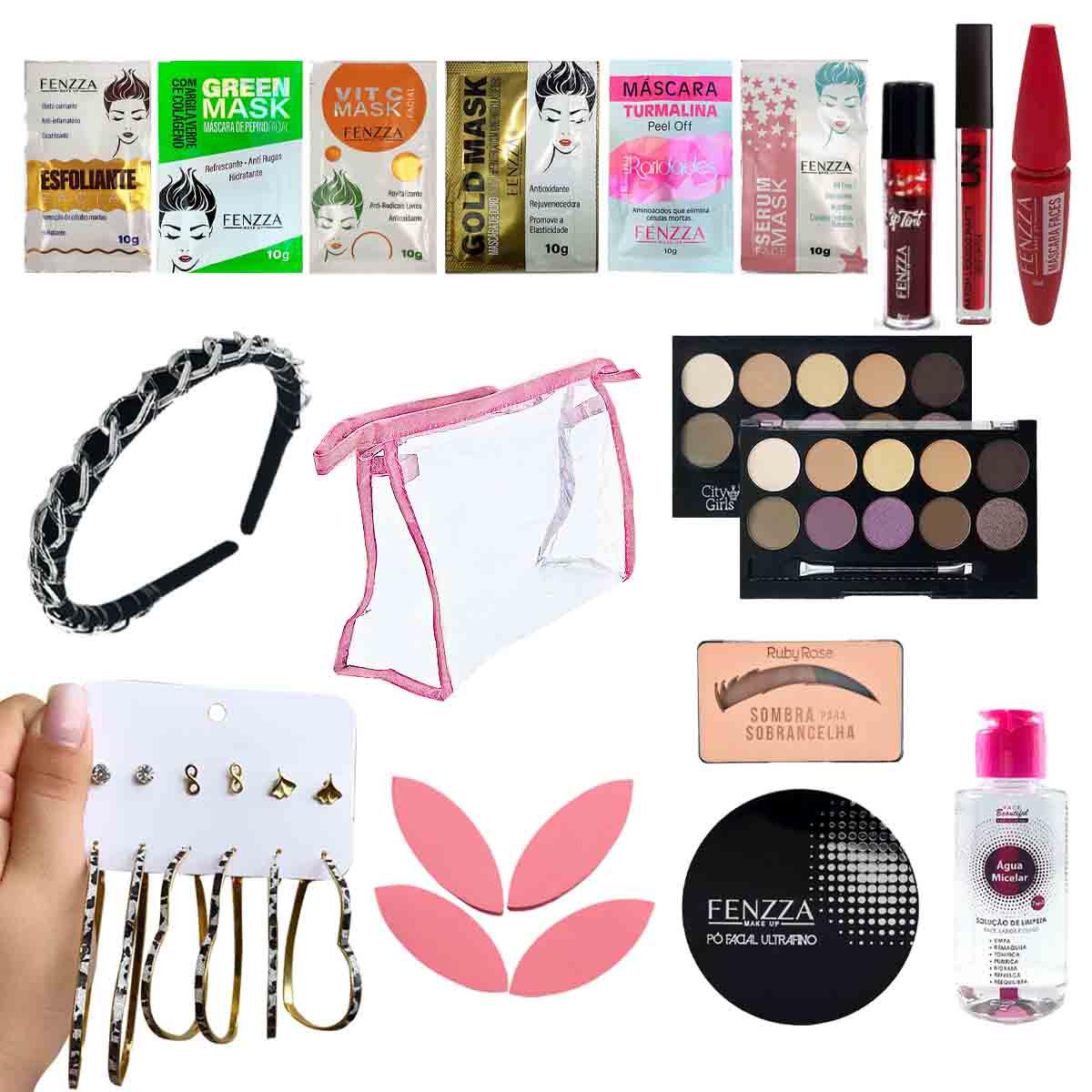 Kit de Maquiagem e Skin Care 3