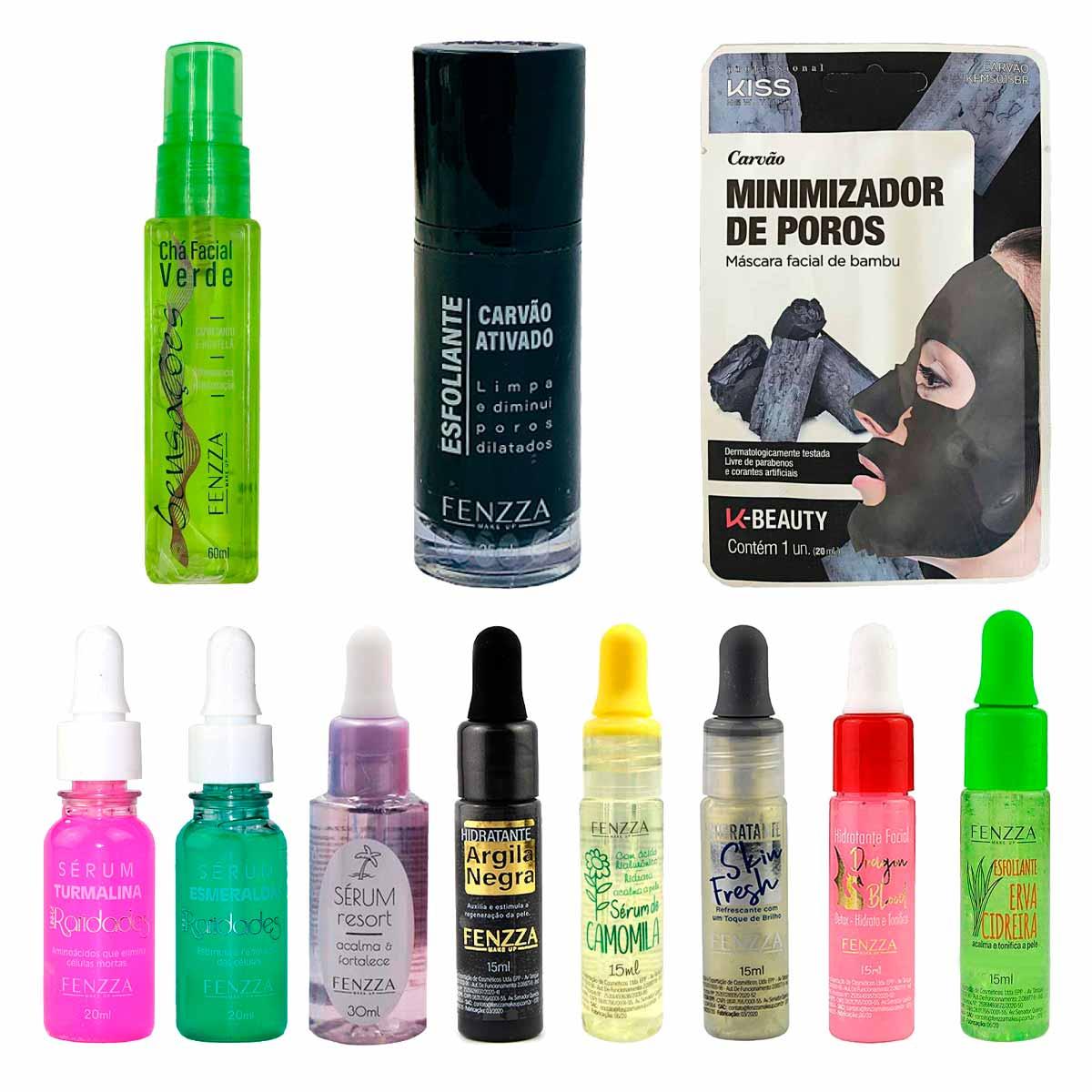 Kit de Maquiagem e Skin Care 4