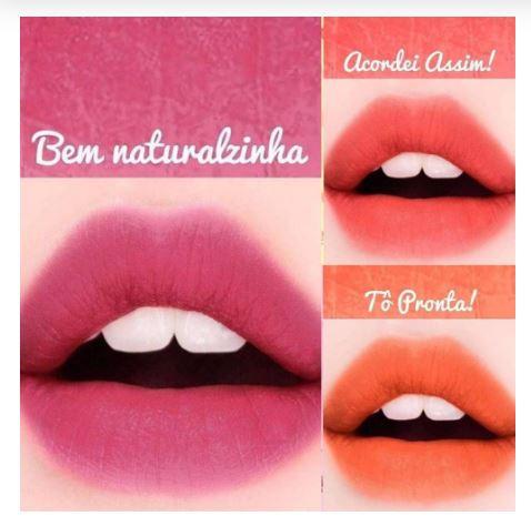 LIP TINT LINHA CORZINHA Dalla Makeup-Bem Naturalzinha