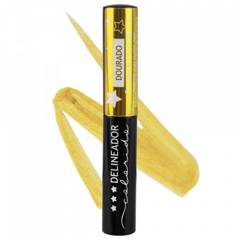 Mahav Delineador Colorido - Dourado