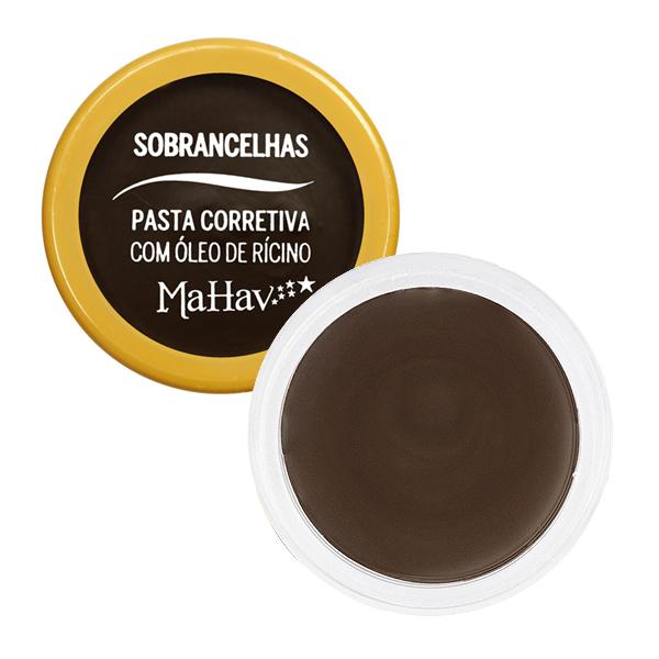 Mahav PASTA CORRETIVA COM ÓLEO DE RÍCINO PARA SOBRANCELHAS C2