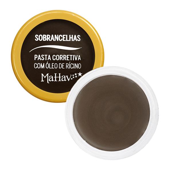 Mahav PASTA CORRETIVA COM ÓLEO DE RÍCINO PARA SOBRANCELHAS C3