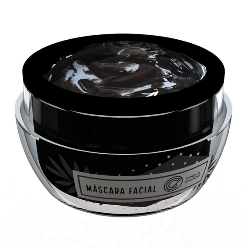 Máscara Facial Com Carvão Ativado Linha Chata De Galocha Tb Make