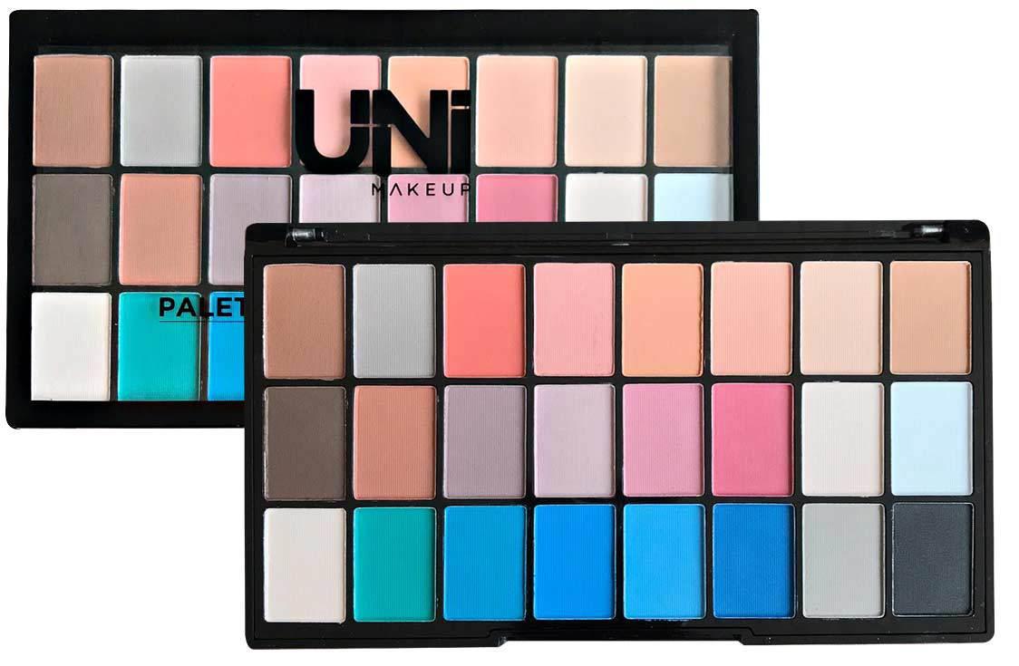 PALETA DE SOMBRAS 24 CORES MATTE Uni Makeup