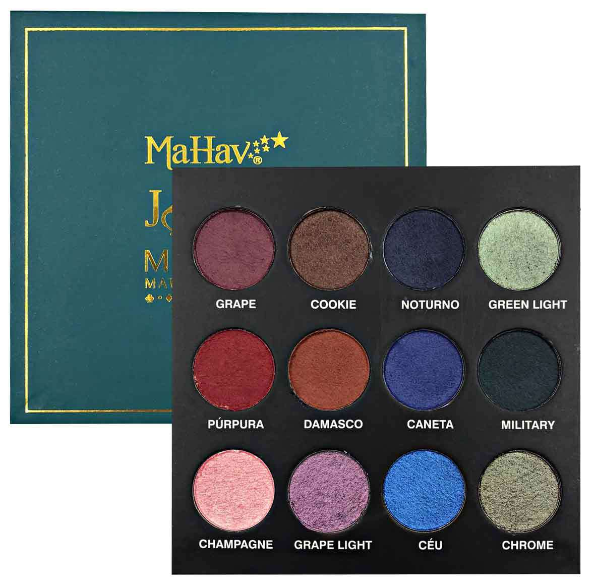 Mahav Paleta de Sombras Joker Mousse - Matte & Shimmer