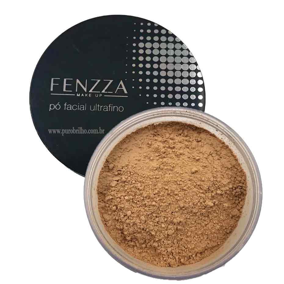 PÓ FACIAL ULTRAFINO Fenzza Makeup-Bege Escuro