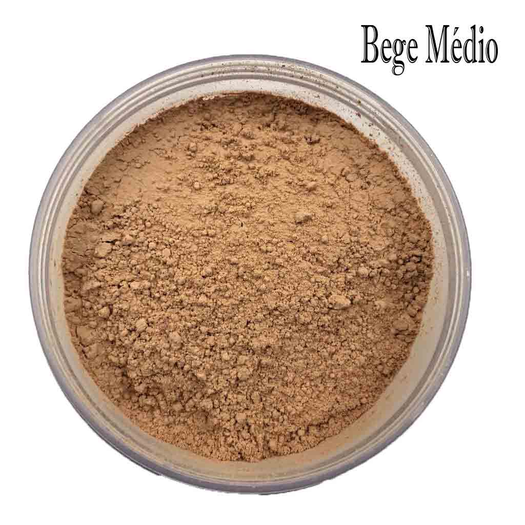 PÓ FACIAL ULTRAFINO Fenzza Makeup-Bege Médio