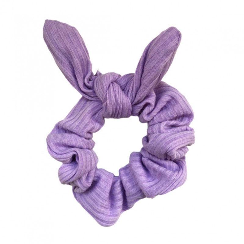 Pompom Scrunchie Lilás