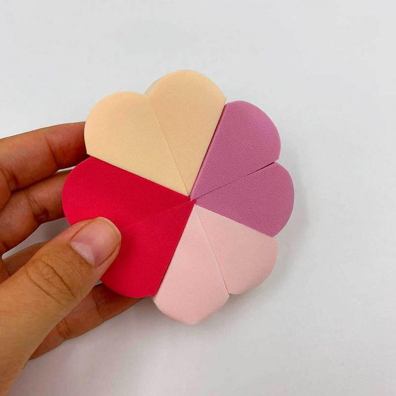 Real Love Kit Esponja Macia Para Pó E Base Duplo Uso Conforto