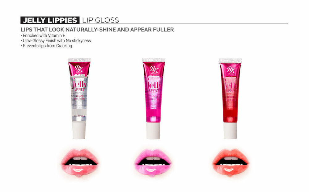 Ruby Kisses JELLY LIPPIES GLOSS LABIAL Love