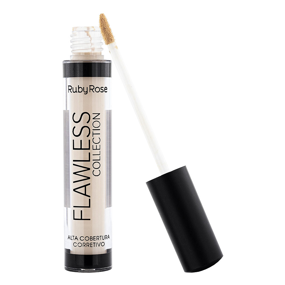 Ruby Rose CORRETIVO ALTA COBERTURA FLAWLESS COLLECTION Bege 2