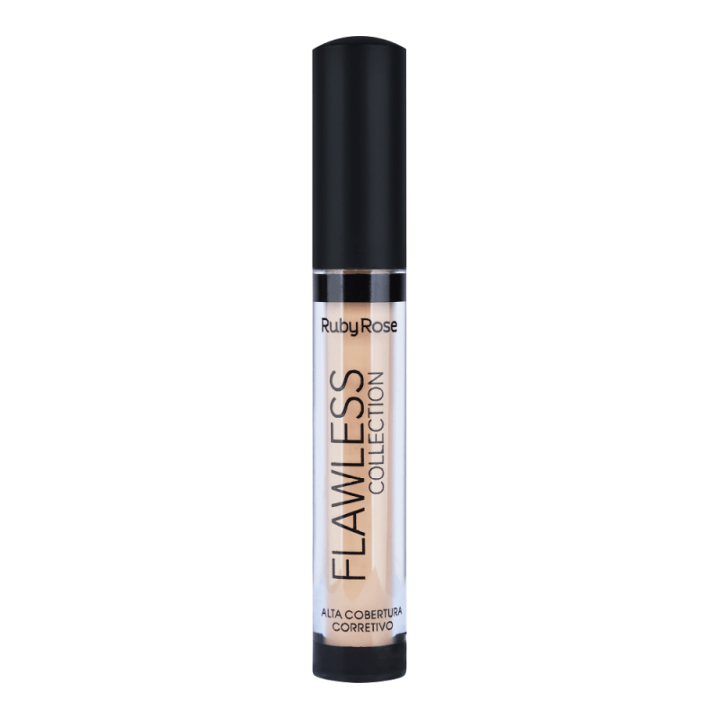 Ruby Rose Corretivo Alta Cobertura Flawless Collection Bege 5