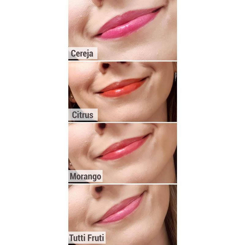 Ruby Rose Lip Tint Para Lábios E Bochechas Tutti Frutti