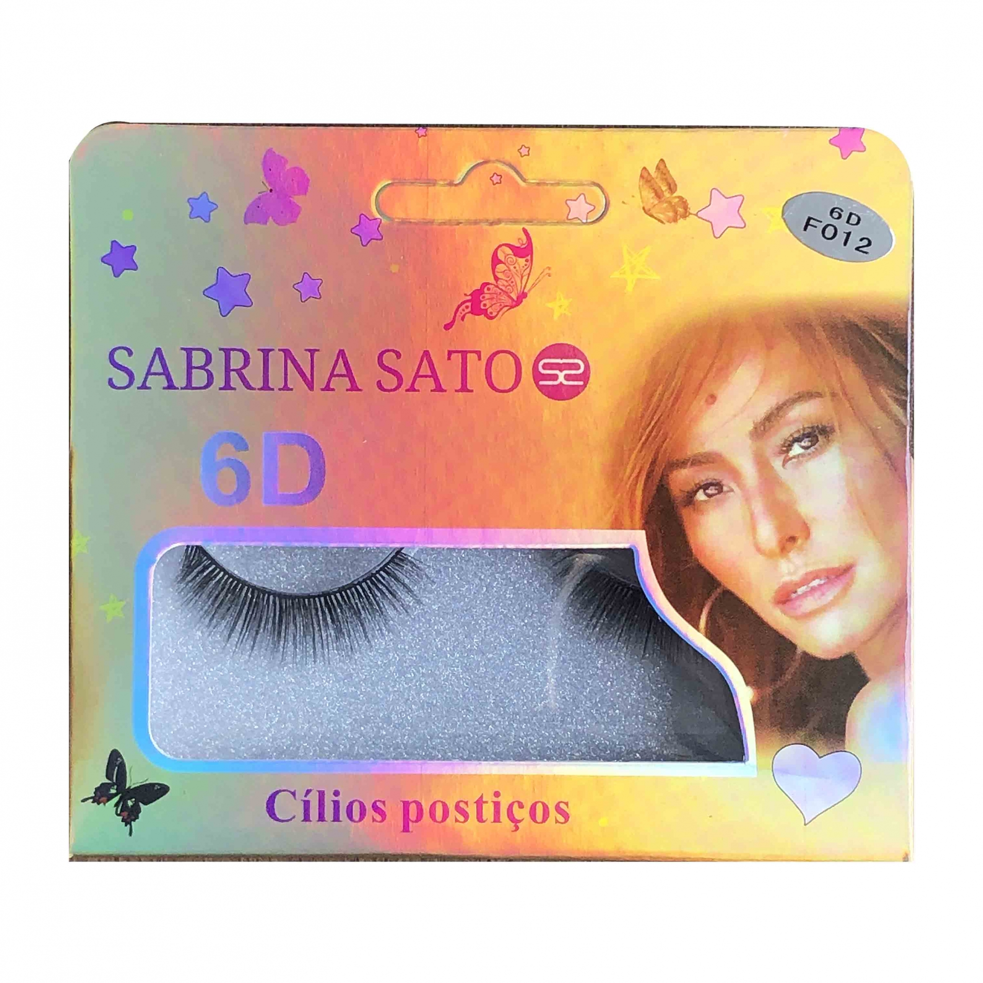 Sabrina Sato CÍLIOS POSTIÇOS 6D-F012