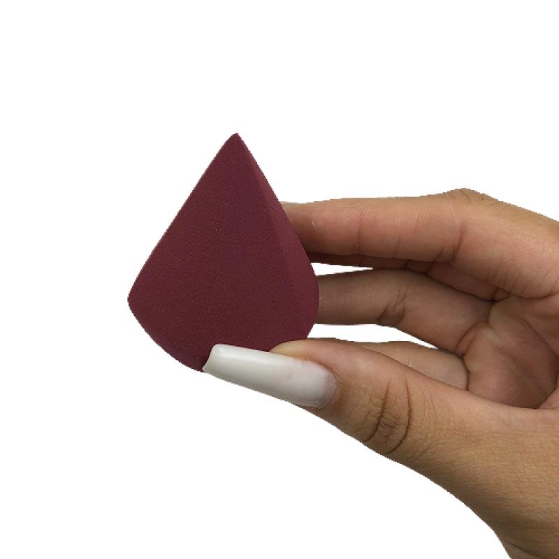 Sabrina Sato Esponja Em Forma Geométrica Polígono Vinho