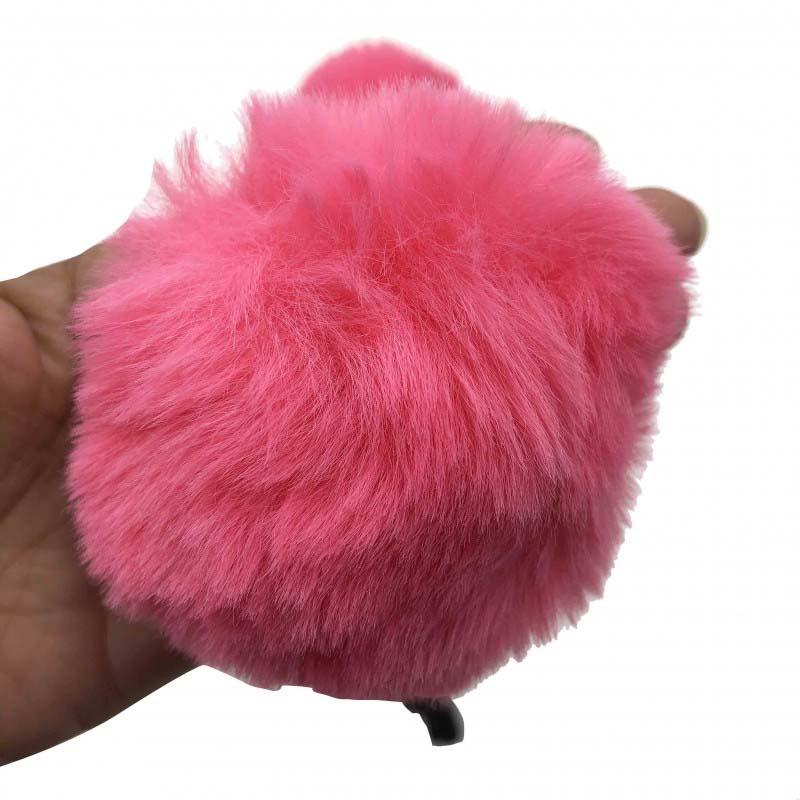 Tiara Infantil Pompom Pink