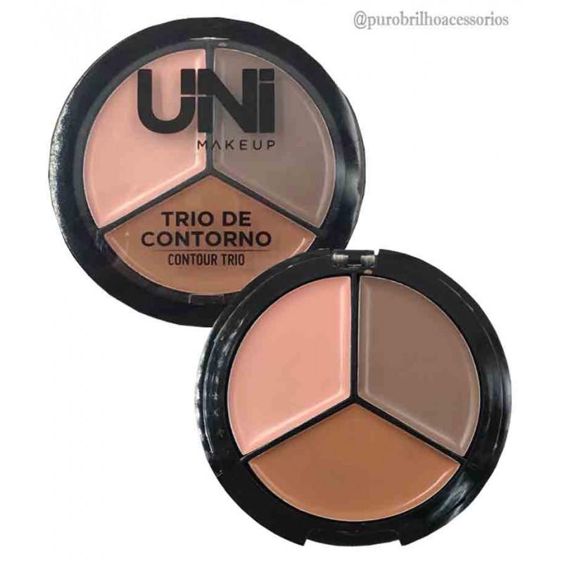 Trio De Contorno Contour  Uni Make Up