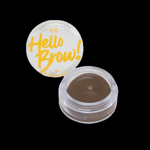 Vizzela Gel para Sobrancelhas Hello Brown! - Marrom Claro