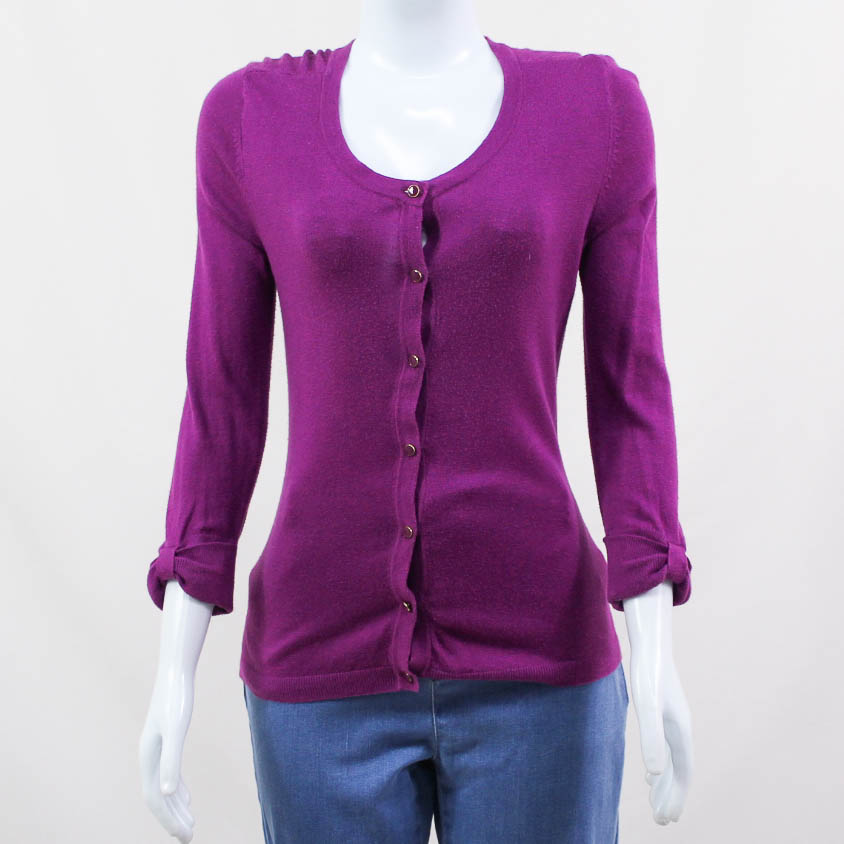 BANANA REPUBLIC- CARDIGAN ROXO