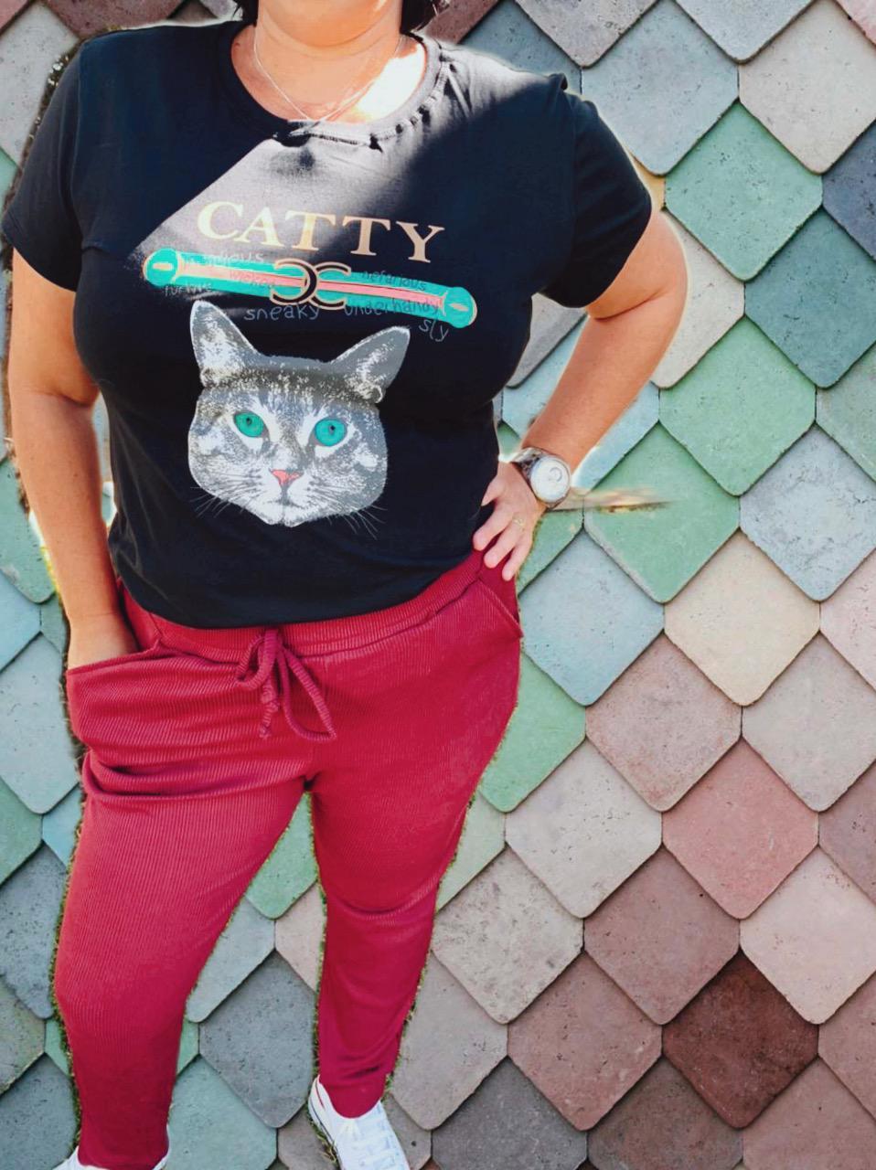DONDOCA - T-SHIRT CATTY