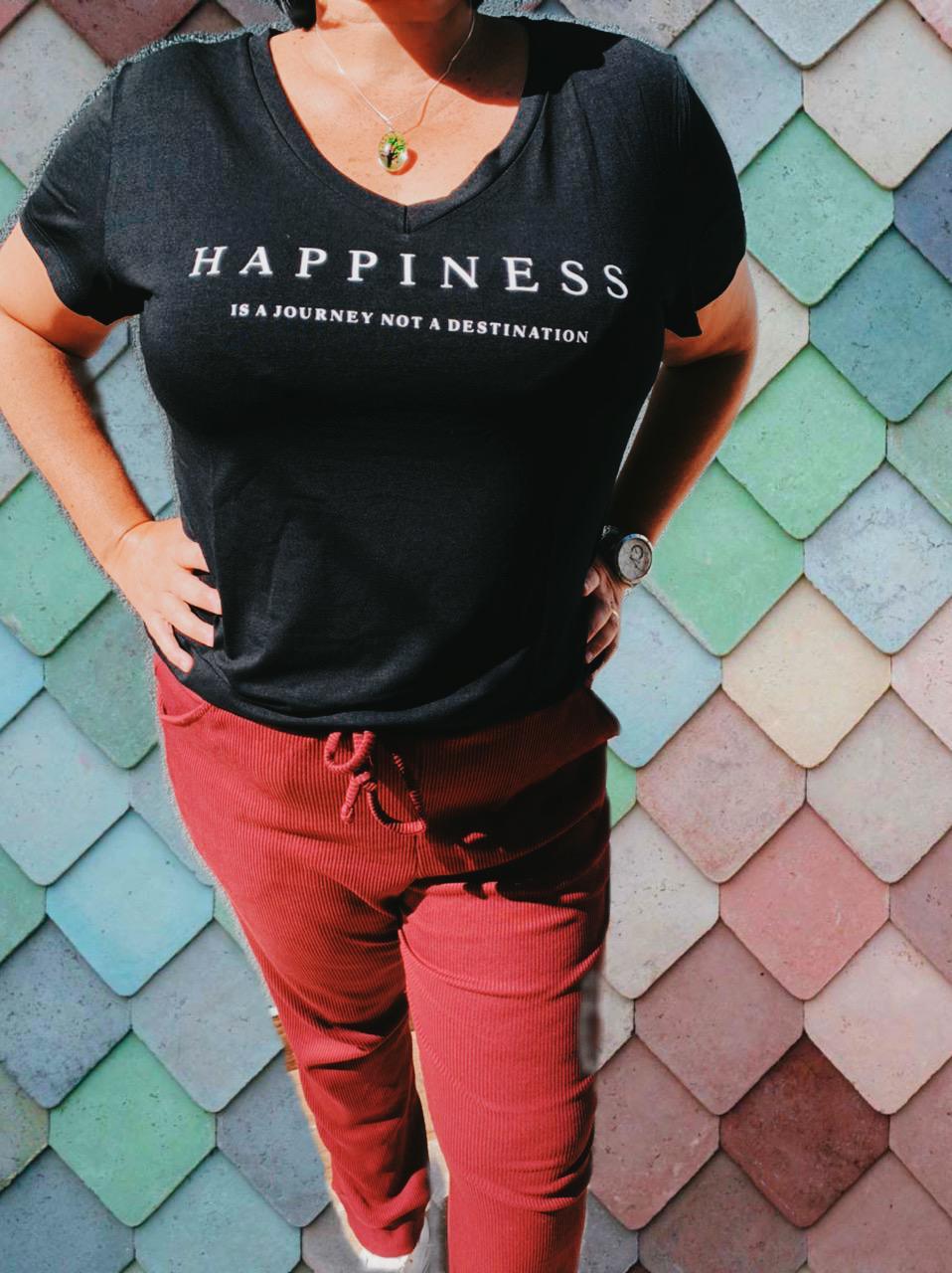 DONDOCA - T-SHIRT HAPPINESS