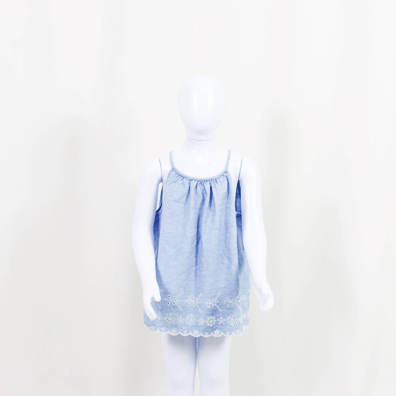 ZARA - VESTIDO INFANTIL JEANS