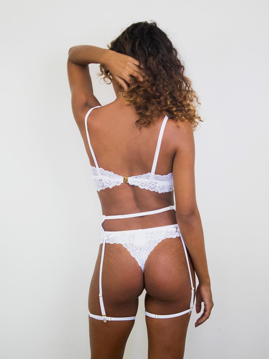 Conjunto Donna Grazia Branco