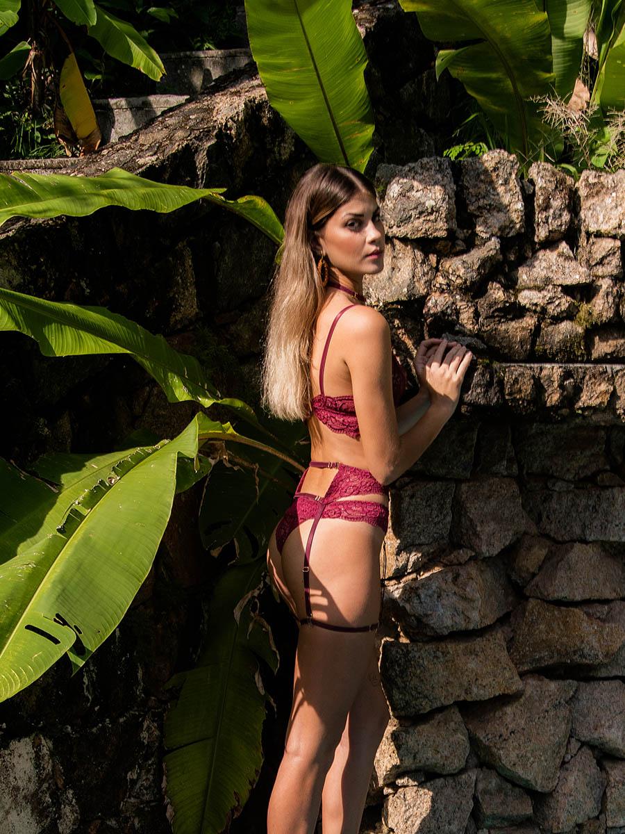 Conjunto Donna Grazia Orquídea