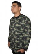 Agasalho de Moletom - Blusão Camuflado Plus Size