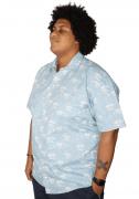 Camisa Colarinho Coqueiro Plus Size - Promoção