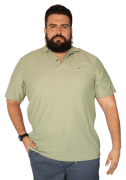 Camisa Polo Flamê com Bolso XXPlusSize